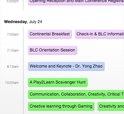 speaker and session descriptions